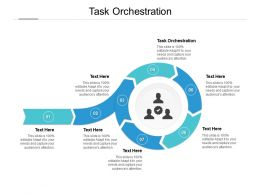 Task Orchestration Ppt Powerpoint Presentation Professional Format Ideas Cpb