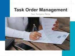 Task Order Management Workflow Automation Customization Development Analytics