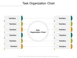Task Organization Chart Ppt Powerpoint Presentation Outline Layout Cpb