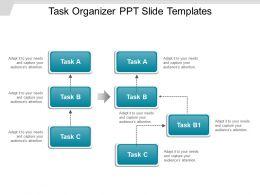 Task Organizer Ppt Slide Templates