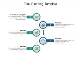 Task Planning Template Ppt Powerpoint Presentation Outline File Formats Cpb
