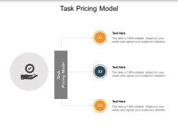 Task Pricing Model Ppt Powerpoint Presentation Portfolio Summary Cpb