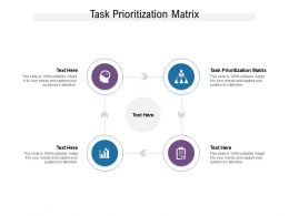 Task Prioritization Matrix Ppt Powerpoint Presentation Ideas Example Cpb