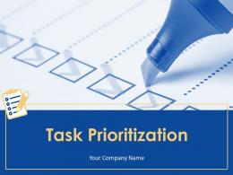 Task Prioritization Powerpoint Presentation Slides