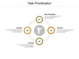 Task Prioritization Ppt Powerpoint Presentation Infographics Gallery Cpb