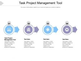 Task Project Management Tool Ppt Powerpoint Presentation Inspiration Templates Cpb
