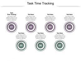 Task Time Tracking Ppt Powerpoint Presentation Portfolio Sample Cpb