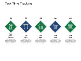 Task Time Tracking Ppt Powerpoint Presentation Styles Templates Cpb
