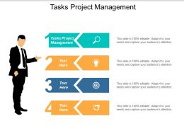 Tasks Project Management Ppt Powerpoint Presentation Gallery Summary Cpb