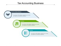 Tax Accounting Business Ppt Powerpoint Presentation Outline Graphics Download Cpb