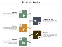 Tax Audit Service Ppt Powerpoint Presentation Ideas Format Ideas Cpb