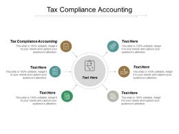 Tax Compliance Accounting Ppt Powerpoint Presentation Inspiration Show Cpb