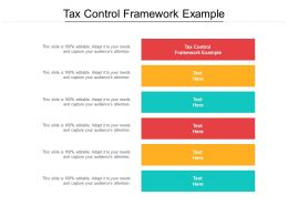 Tax Control Framework Example Ppt Powerpoint Presentation File Example Introduction Cpb