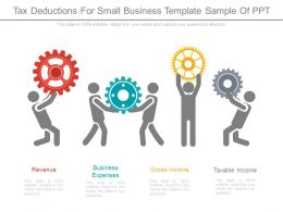 Tax Deductions For Small Business Template Sample Of Ppt