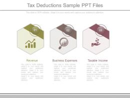 Tax Deductions Sample Ppt Files