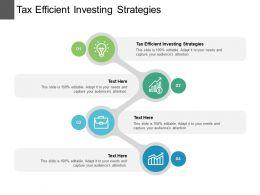 Tax Efficient Investing Strategies Ppt Powerpoint Presentation Styles Outline Cpb