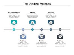 Tax Evading Methods Ppt Powerpoint Presentation Visual Aids Deck Cpb