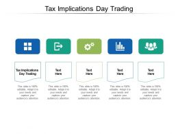 Tax Implications Day Trading Ppt Powerpoint Presentation File Maker Cpb