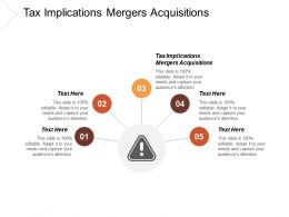 Tax Implications Mergers Acquisitions Ppt Powerpoint Presentation Outline Example Cpb