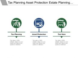 Tax Planning Asset Protection Estate Planning Survivor Protection
