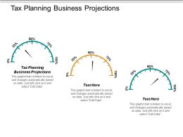 Tax Planning Business Projections Ppt Powerpoint Presentation Layouts Rules Cpb