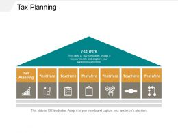 Tax Planning Ppt Powerpoint Presentation Model Templates Cpb
