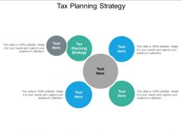 Tax Planning Strategy Ppt Powerpoint Presentation Summary Visual Aids Cpb