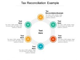 Tax Reconciliation Example Ppt Powerpoint Presentation Portfolio Tips Cpb