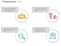 Tax Search Blockage Information Pre Payment Option Ppt Icons Graphics