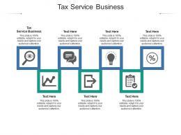 Tax Service Business Ppt Powerpoint Presentation Portfolio Outline Cpb