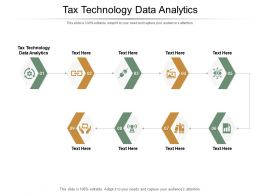 Tax Technology Data Analytics Ppt Powerpoint Presentation Infographic Template Graphics Example Cpb