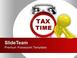 Tax Time Finance Powerpoint Templates Ppt Backgrounds For Slides 0113