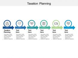 Taxation Planning Ppt Powerpoint Presentation Professional Diagrams Cpb