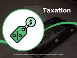 Taxation Powerpoint Slide Background Designs