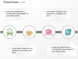 Taxi Coffee Bag Passport Ppt Icons Graphics