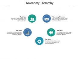 Taxonomy Hierarchy Ppt Powerpoint Presentation Infographic Template Slide Download Cpb