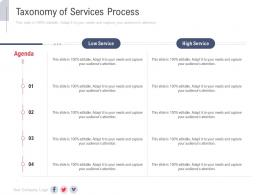 Taxonomy Of Services Process New Service Initiation Plan Ppt Professional