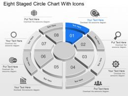 Td Eight Staged Circle Chart With Icons Powerpoint Template Slide