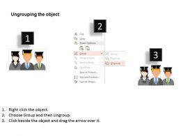 52126432 Style Essentials 1 Our Team 3 Piece Powerpoint Presentation Diagram Infographic Slide