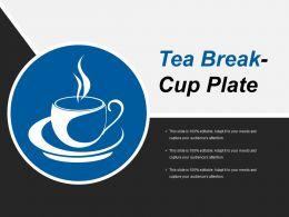 Tea Break Cup Plate