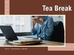 Tea Break Employee Ordering Recreational Beverage Relaxing Cafeteria