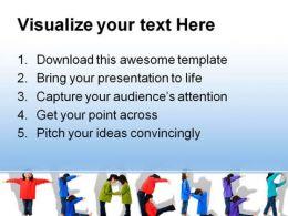 Teacher Children PowerPoint Template 0810  Presentation Themes and Graphics Slide03