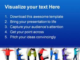 Teacher Children PowerPoint Template 0810  Presentation Themes and Graphics Slide02