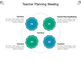 Teacher Planning Meeting Ppt Powerpoint Presentation Infographic Template Graphics Pictures Cpb