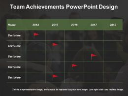 Team Achievements Powerpoint Design