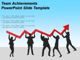 Team Achievements Powerpoint Slide Template