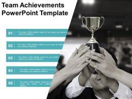Team Achievements Powerpoint Template