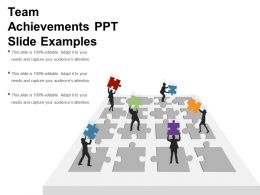 Team Achievements Ppt Slide Examples