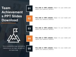 Team Achievements Ppt Slides Download