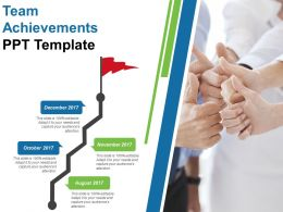 Team Achievements Ppt Template